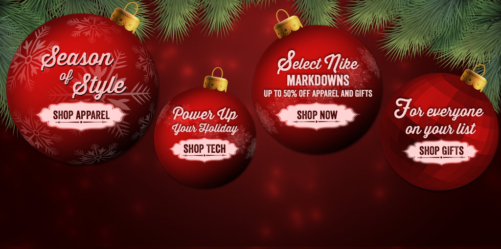 Shop Apparel, Technology, Nike Markdowns, and Gifts