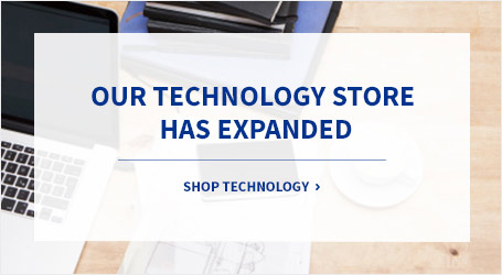Our technology store has explanded. Shop technology.