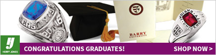 Congratulations Graduates! Shop graduation products with Herff Jones.
